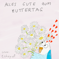 Muttertag Cartoon