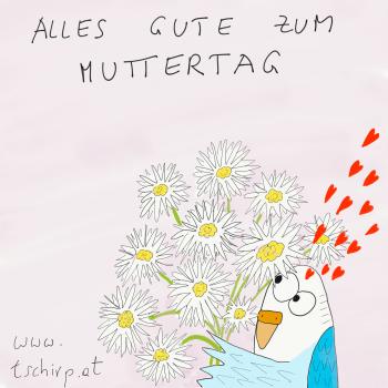 Muttertag Cartoon