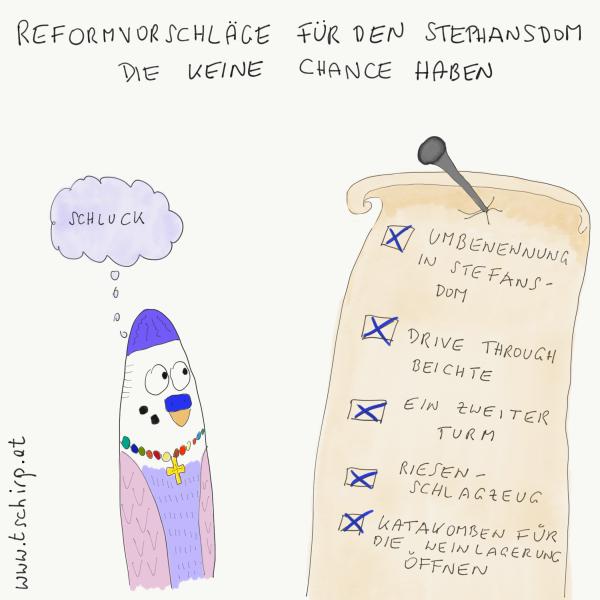 Stephansdom Reformvorschläge Humor