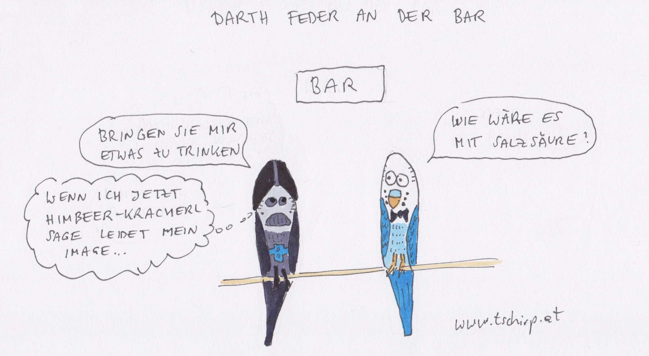 Darth Vader, Starwars, Star Wars, Darthvader, Wellensittich