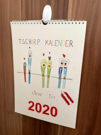Foto vom Tschirp Kalender 2020